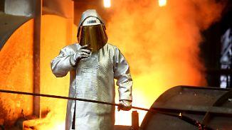 Proteste bei der Belegschaft: Thyssenkrupp und Tata schmieden neuen Stahlgiganten