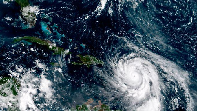 """Wetterextreme wie der Hurrikan """"Maria"""" sind aufgrund des Klimawandels schon jetzt häufiger."""
