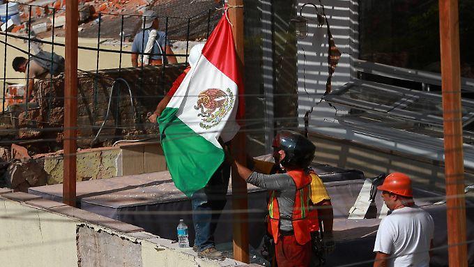 Das Erdbeben erschütterte Mexiko-City stark.