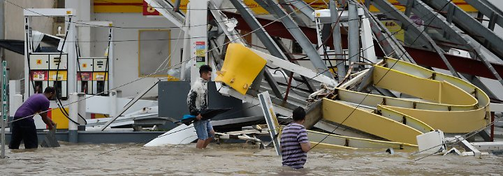 """Zweiter Megasturm innerhalb weniger Tage: """"Maria"""" fegt mit über 220 km/h durch Puerto Rico"""