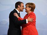 Das Ende des Schmusekurses: Macron drängt Merkel zu Reformen