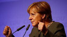 Auf den Spuren von Adenauer und Kohl: Angela Merkel.