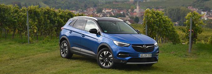 Der Opel Grandland X reiht sich vor dem Mokka und dem Crossland X in die SUV-Palette der Rüsselsheimer ein.
