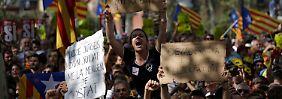 """Konflikt um geplantes Referendum: Katalanen kündigen """"Mobilisierung"""" an"""