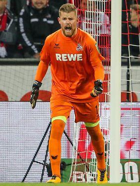 """""""Wenn man ein Tor in fünf Spielen schießt, ist es schwierig zu punkten"""": Timo Horn."""