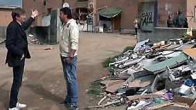 Blechhütten auf Müllbergen: Abseits der Touristen zeigt Rom seine dunkle Seite