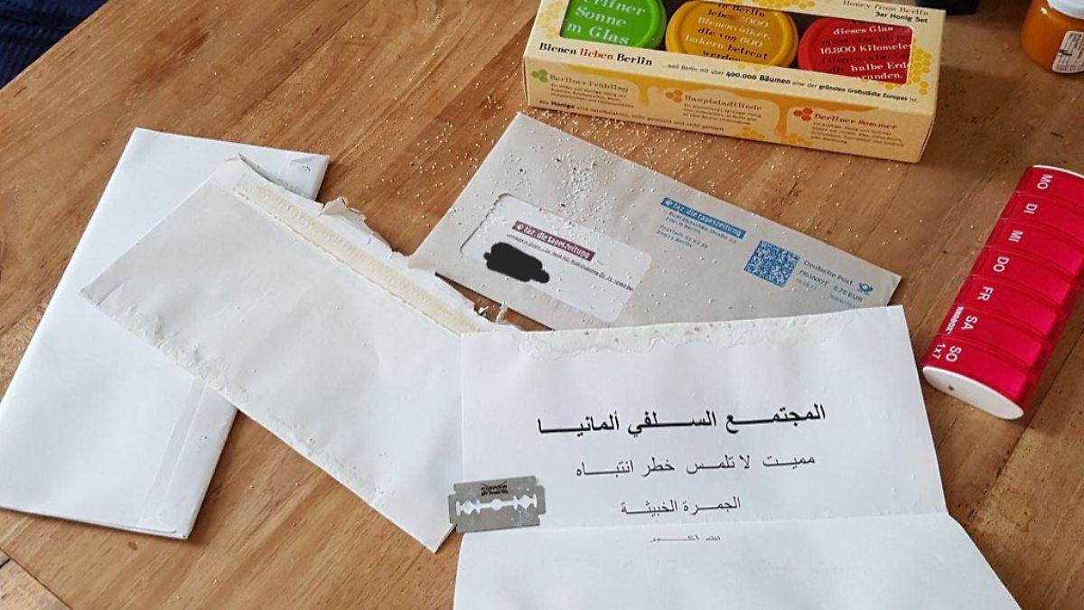 Briefe Mit Häftlingen : Drohungen gegen spitzenpolitiker unbekannte senden briefe