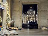 Anordnung im Vatikan: Obdachlose müssen Petersplatz räumen
