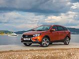 Mit zwei Varianten des Vesta will Lada im kommenden Jahr auf dem deutschen Markt durchstarten.