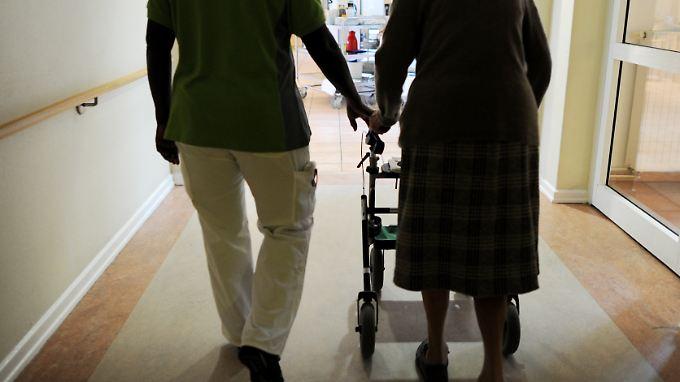 3,3 Millionen Menschen in Deutschland haben Anspruch auf Leistungen der Pflegeversicherung.