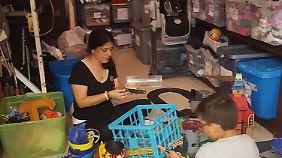 Einmal die Woche öffnet das Lager in Miami seine Tür für Venezolaner, die Haushaltswaren brauchen.
