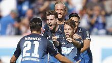 Bremen und Freiburg sieglos: Hoffenheim überholt Bayern, Leipzig zittert