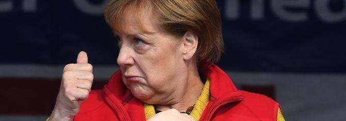 """""""Ran an den Speck"""": Merkel und Schulz kämpfen und zittern"""