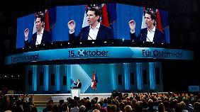 Gewählt wird in Österreich am 15. Oktober.