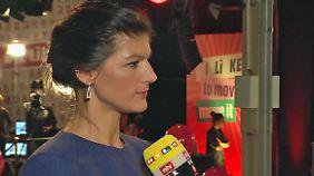 """Sahra Wagenknecht im n-tv Interview: """"Haben uns die Flüchtlingsfrage zu einfach gemacht"""""""
