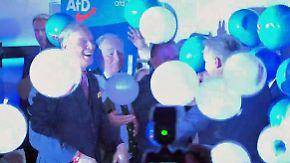 """Jubel in der AfD-Disco: Gauland: """"Werden die Regierung jagen"""""""