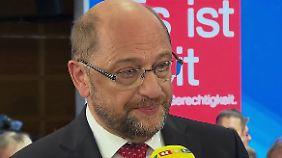 """Martin Schulz im n-tv Interview: """"Werden der AfD aufs Haupt steigen"""""""