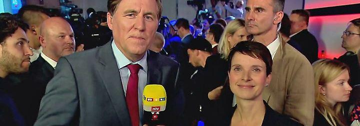 """Frauke Petry im n-tv Interview: """"Dagegen sein reicht nicht aus"""""""