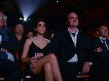 Regisseur hat sich verlobt: Quentin Tarantino feiert die Liebe