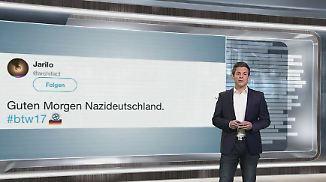 n-tv Netzreporter: Netznutzer reagieren harsch auf AfD-Einzug