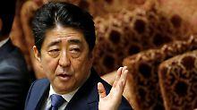 Umfragehoch dank Nordkorea: Japan kündigt Neuwahlen an