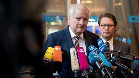 Seehofer stellte die Fraktionsgemeinschaft mit der CDU nicht infrage. Er tat dies allerdings auf höchst ungewöhnliche Art und Weise.
