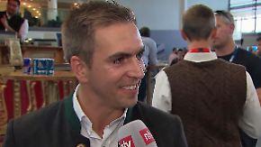 """Philipp Lahm zu Start-Up-Investment: """"Ich bin am Anfang meiner Ausbildung"""""""