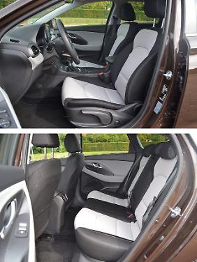 Ob der Zweifarb-Look im Hyundai i30 Kombi gefällt, muss jeder für sich selbst entscheiden.