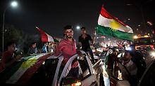 Deutliches Ergebnis erwartet: USA rügen kurdisches Referendum