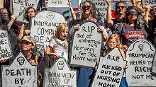 Widerstand der eigenen Reihen: Trumps Gesundheitsreform droht das Aus