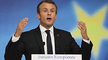 Frankreich pro Jamaika-Koalition: Macron: FDP und Grüne unterstützen Europa
