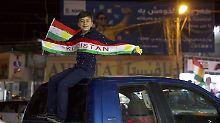 Bagdad stellt Ultimatum: Kurdenpräsident erklärt Sieg bei Referendum