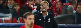 """Königsklassen-Frust für Klopp: Liverpool patzt wieder, """"Hurrican"""" brilliert"""