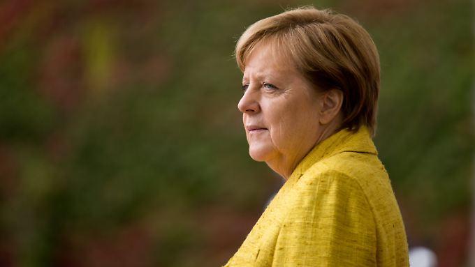 Angela Merkel will an ihrem Kurs nichts ändern.