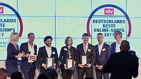 n-tv Ratgeber: Das sind Deutschlands beste Online-Shops