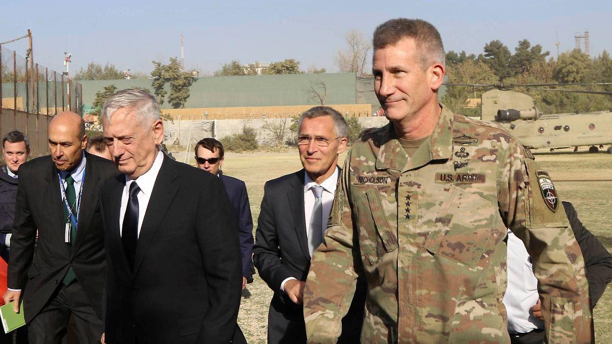 Raketenangriff überschattet Mattis-Besuch