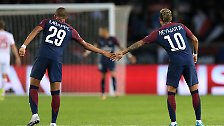 222-Millionen-Mann Neymar und 180-Millionen-Mann Mbappe waren kaum einzubremsen.
