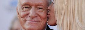 """Hefners Worte zum Abschied: """"Alles richtig gemacht, Hugh!"""""""
