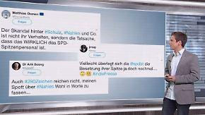 n-tv Netzreporter: Nahles polarisiert mit #InDieFresse-Ansage