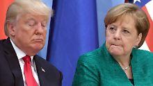 Erstes Telefonat nach Wahlsieg: Trump gratuliert Merkel - nach vier Tagen