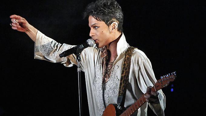 Prince beim Hop Farm Festival im Juli 2011 im britischen Paddock Wood.