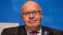 Vorläufiger Ersatz für Schäuble: Altmaier übernimmt das Finanzministerium