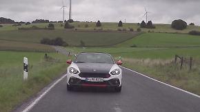 Nichts für großgewachsene Roadster-Fans: Abarth 124 Spider begeistert mit herzhaftem Sound