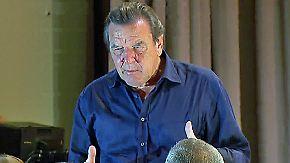 Kreml-Flüsterer Schröder: Altbundeskanzler widerspricht sich bei Rosneft-Job selbst