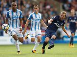 Tottenhams Harry Kane fertigt Huddersfield ab - wieder ein Doppelpack von ihm