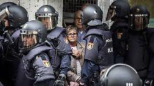 """Referendum in Katalonien: """"Wir werden wie Verbrecher behandelt"""""""