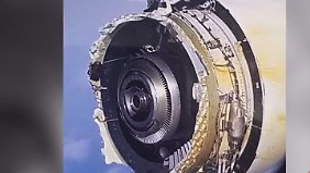 Air-France-Maschine muss notlanden: Airbus-Triebwerk explodiert über dem Atlantik
