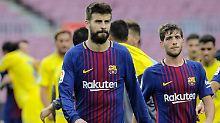 Gerard Piqué ist glühender Katalane - kein Spanier, wie er selbst betont.