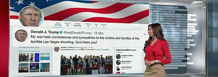 n-tv Netzreporterin: Las Vegas entsetzt weltweit, Trump kondoliert