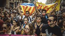"""Kein """"traumatischer"""" Bruch: Kataloniens Regierung hält an Loslösung fest"""